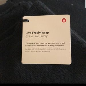lululemon athletica Sweaters - Live Freely Wrap NEW with tags